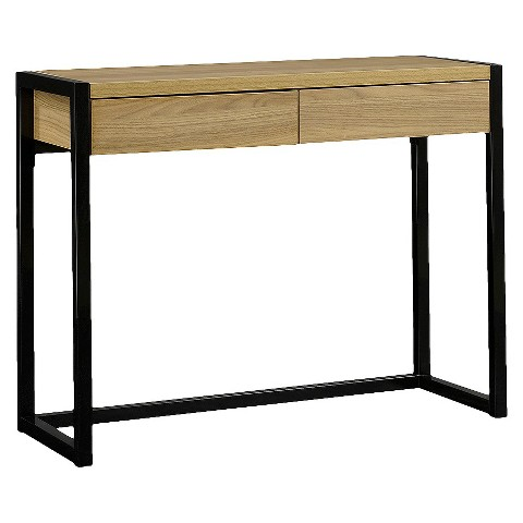 Desk Wood & Metal Black - Room Essentials™