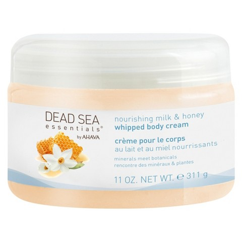 Dead Sea Essentials®  by AHAVA Nourishing Milk & Honey Whipped Body Cream