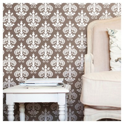 Devine Color Chantilly Peel & Stick Wallpaper - Buck
