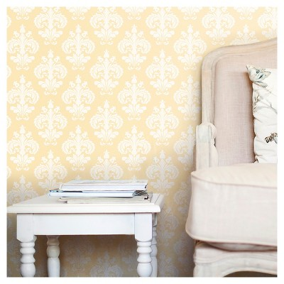 Devine Color Chantilly Peel & Stick Wallpaper - Firefly
