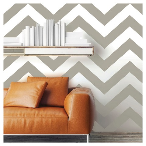 Devine Color Zig Zag Peel & Stick Wallpaper - Mirage