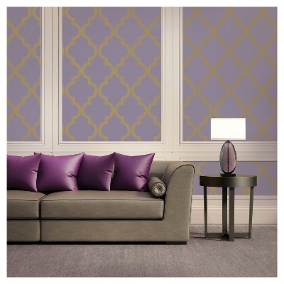 Devine Color Cable Stitch Peel & Stick Wallpaper - Starlight