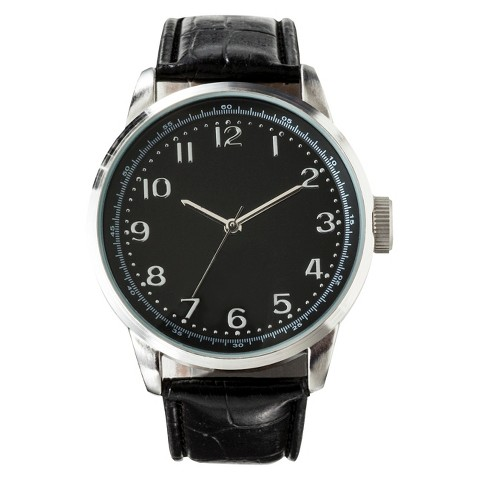 Men's Dress Wristwatch - Black