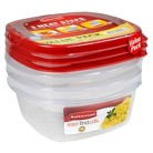 Rubbermaid Easy Find Lids Food Storage Container 5 cup, 3 pk