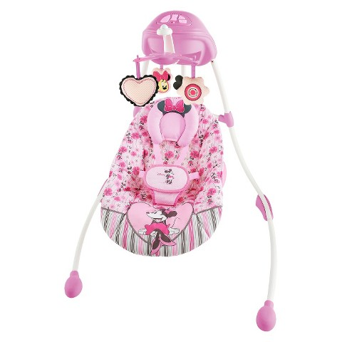 Disney Baby Minnie Mouse Precious Petals Swing