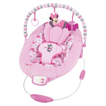 Disney Baby Minnie Mouse Precious Petals Bouncer