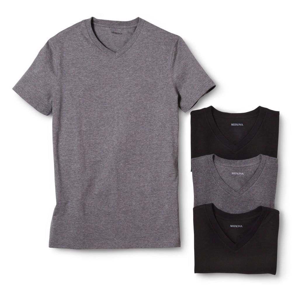 2808b4fda21e Merona Men's 4-pack V- Neck Undershirts - L
