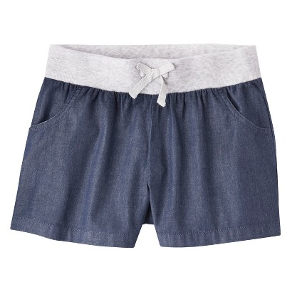 Circo® Girls' Lounge Shorts -  Chambray