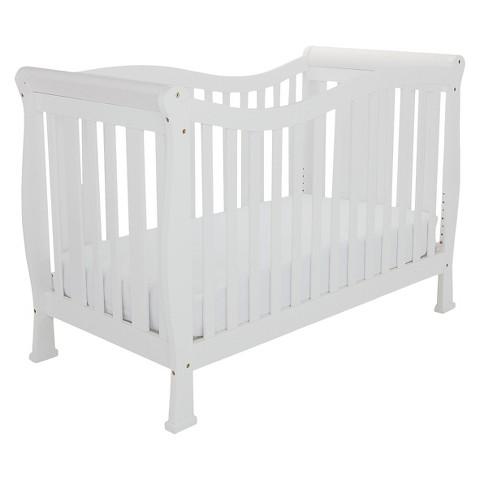 Mikaila Zoe 3-in-1 Convertible Crib - White