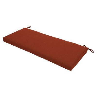 Threshold™ Outdoor Bench Cushion - Orange