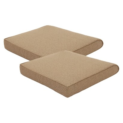 Smith & Hawken® 2-Piece Outdoor Seat Cushion Set - Sand Key