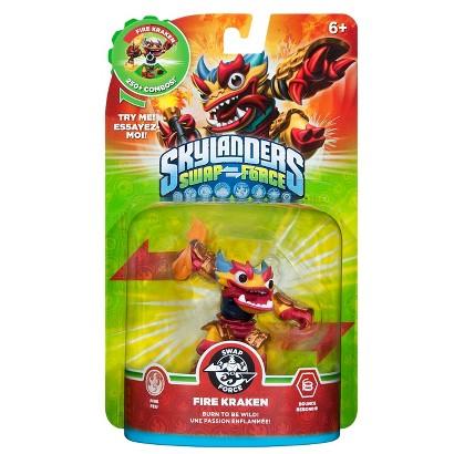 Skylanders Swap Force Fire Kraken