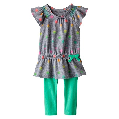 Circo® Infant Toddler Girls' Tunic and Legging Set