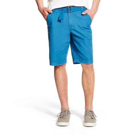 Men's Belted Flat Front Short - Mossimo Supply Co.