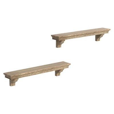Threshold™ Wall Ledge Set of 2 - Gray