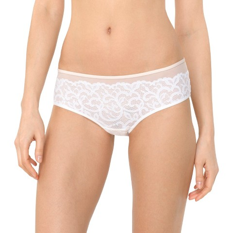 Women's Lace Hipster Fresh White - Gilligan & O'Malley®