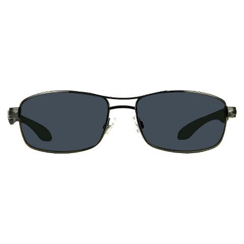 Men's Pilot Sunglasses Metal Sport - Gunmetal