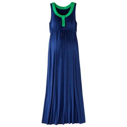 Maternity Sleeveless Color block Maxi Dress-Merona®