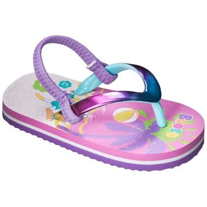 Toddler Girl's Dora The Explorer Flip Flop Sandals - Multicolor
