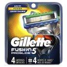 Gillette Fusion ProGlide Power Men's Razor Blade Refills - 4 count