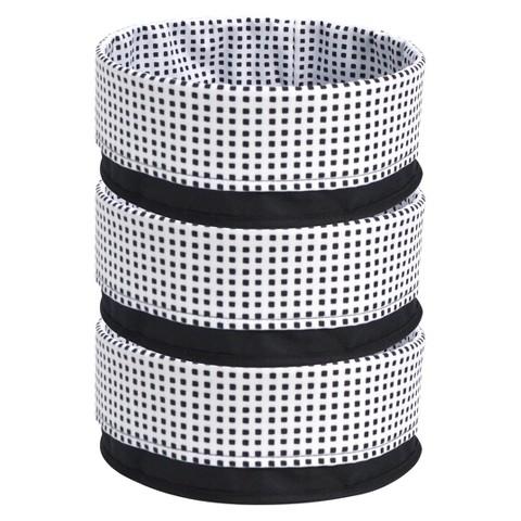Room Essentials™ Medium Fold Over Decorative Basket Set of 3