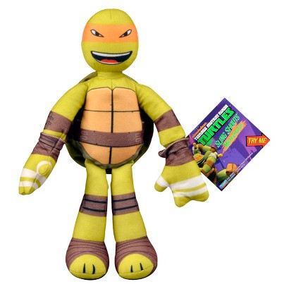 "Sling Shout Michelangelo  9"" Plush figure"