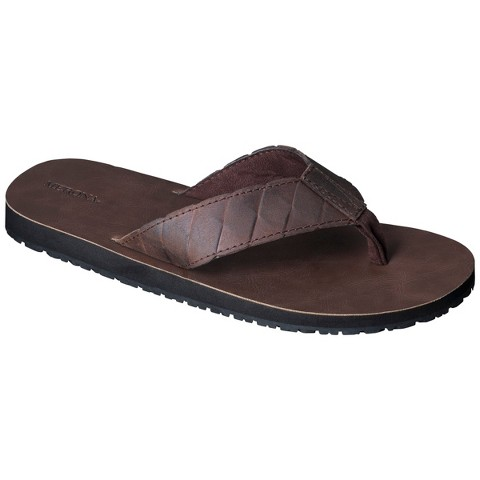 Men's Merona® Kavon Flip Flop Sandals - Brown