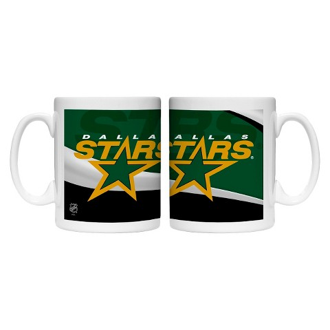 Boelter Brands NHL 2 Pack Dallas Stars Wave Style Mug - Multicolor (15 oz)