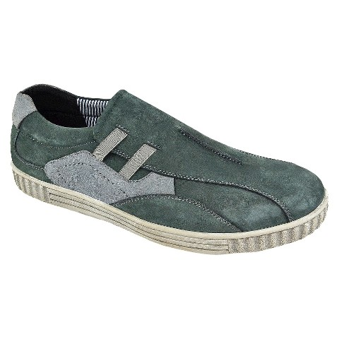 Men's Muk Luks Lucas Genuine Suede Sneakers - Blue