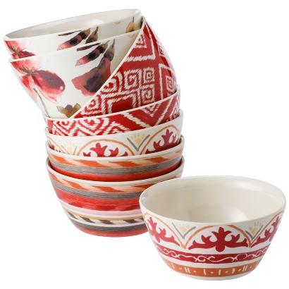 Threshold™ 8 Piece Dip Bowls - Aztec Blush