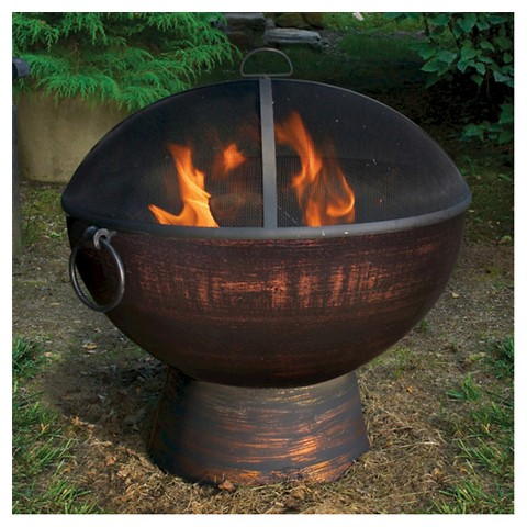 """Good Directions 26"""" Fire Bowl with Spark Screen"""
