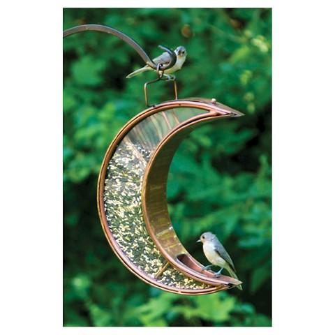 Good Directions Crescent Moon Bird Feeder - Venetian Bronze