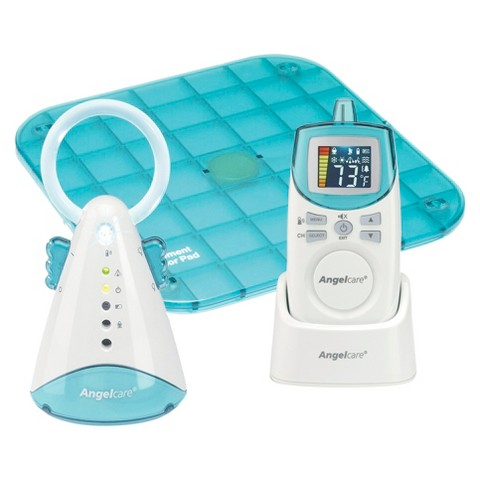 Angelcare AC401 Movement and Sound Monitor with 1 Rechargeable Parent Unit