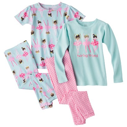 Just One You™ Made by Carter's&#174 Girls' 4-Piece Ballerina Pajama Set