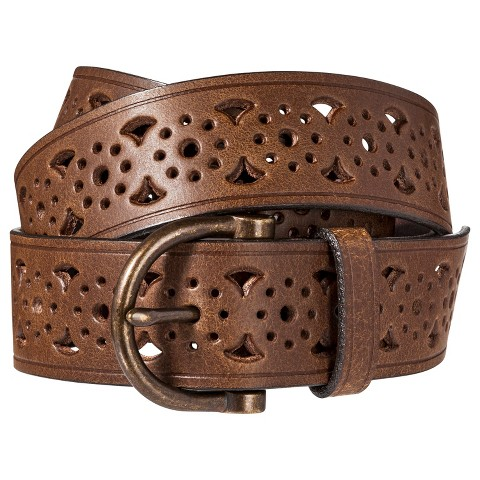 Mossimo Supply Co. Perforated Belt - Brown