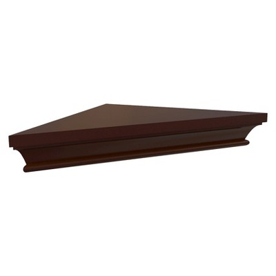 Threshold™ Classic Corner Shelf - Espresso