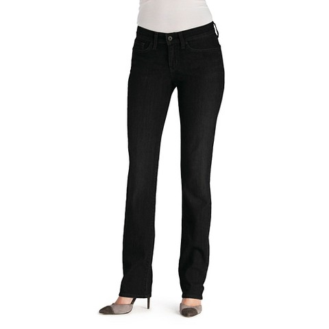 DENIZEN® Women's Essential Stretch Straight Leg Jean - Black