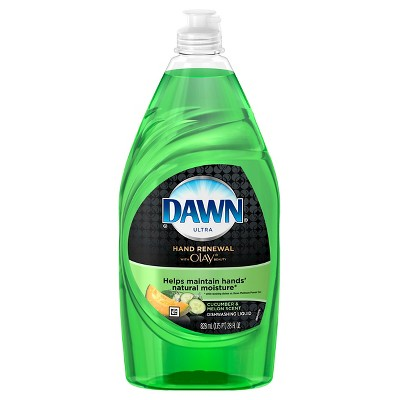 Dawn® Hand Renewal with Olay® Dishwashing Liquid Cucumber & Melon 28 Oz