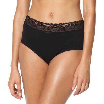 Cotton with Lace Hipster Brief - Gilligan & O'Malley®