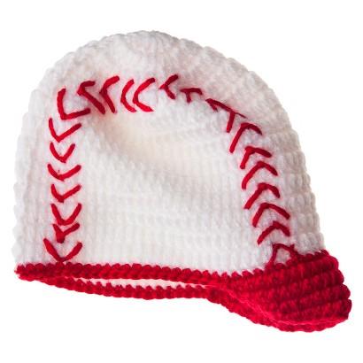 So'dorable Infant Boys' Baseball Beanie - White/Red