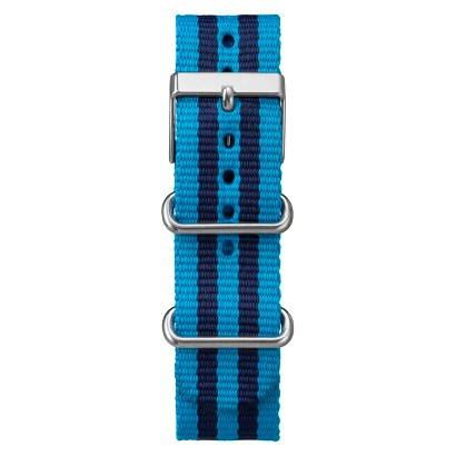 Men's Timex Weekender™ Full-Size Slip Thru Replacement Strap with Stripes - Blue (20mm)