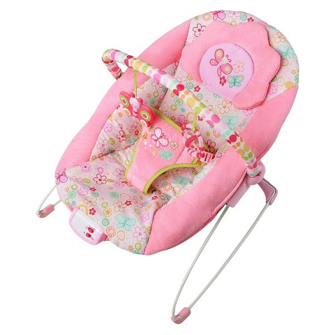 Bright Starts™ Flutter Dot™ Bouncer - Pretty in Pink™