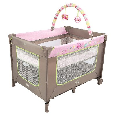 Bright Starts™ Flutter Dot™ Playard - Pretty in Pink™