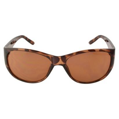 Round Sunglasses - Brown/Orange