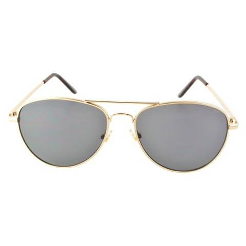 Aviator Sunglasses - Gold