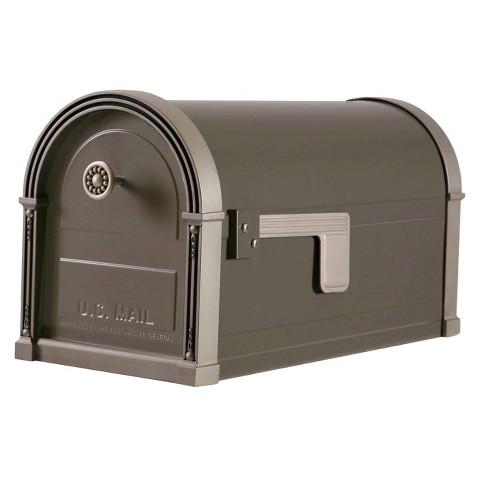 Gibraltar High Grove Rural Mailbox - Bronze