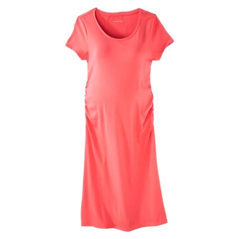 Maternity Short Sleeve Shirt Dress-Liz Lange® for Target®
