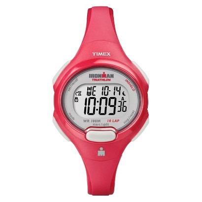Timex Women's 10 Lap Coral Strap and Case Watch - Coral