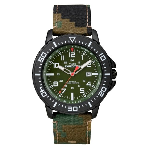 s timex expedition green target