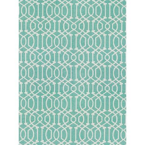 Threshold™  Rectangular Patio Rug - Turquoise Lattice